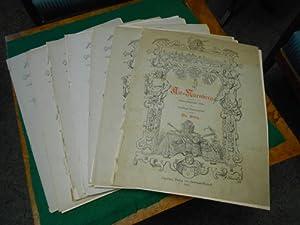 Alt-Nürnberg<. 7 von insgesamt 14 Mappen- Werken. Kulturgeschichtliche Bilder aus Nü...