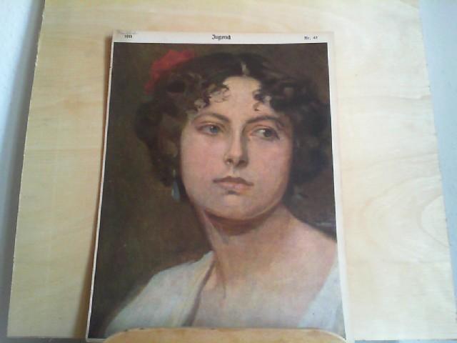 Design & Stil Bilder Offen Titelseite Der Nummer 38 Von 1897 Reinhold Max Eichler Simplicissimus 0090
