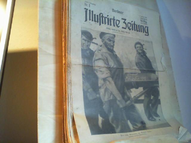 Zeitungen erster weltkrieg zvab berliner illustrirte zeitung 1915 jg 24 fandeluxe Images