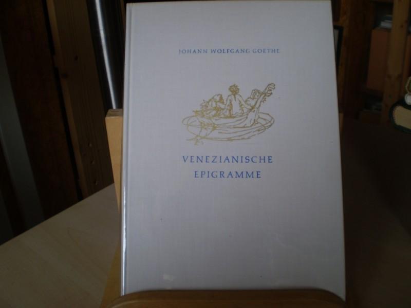 Venezianische Epigramme. Venedig 1790.: Goethe, Joh. Wolfg.
