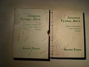 Japanese floral arts. Flower arrangements, tray landscapes,: Koehn, Alfred: