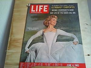 LIFE. International Edition. June 4, 1962. The
