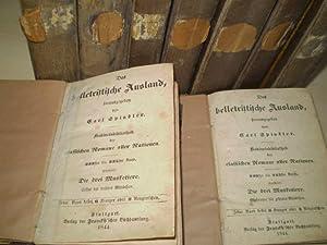 DAS BELLETRISTISCHE AUSLAND VON CARL SPINDLER. Vorhanden: Dumas, Alexandre.