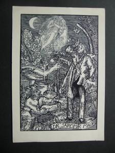 Einfarbiges Ex Libris.: VÁCHAL, JOSEF: