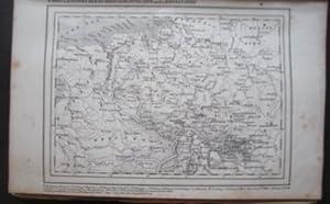Karte von Hannover, Braunschweig, Oldenburg, Lippe und