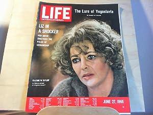 LIFE. International Edition. June 27, 1966, Vol.40,