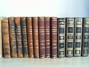 HISTORISCHE ZEITSCHRIFT. (Konvolut von 14 Bänden =