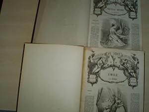 LA NOUVELLE HELOISE; ÉMILE. 20 Centimes la: Rousseau, J. J.