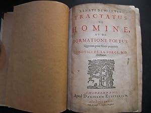 Tractatus de Homine, et de Formatione Foetus.: DESCARTES, RENATUS: