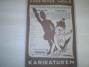 Karikaturen.: Woile, Hans Peter: