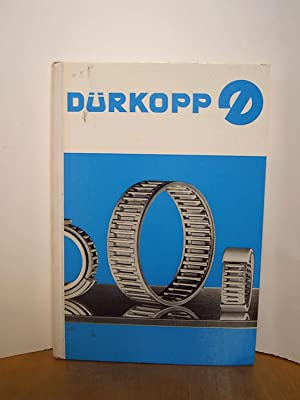 Dürkopp Nadellager Katalog W117/1: Dürkopp Aktiengesellschaft