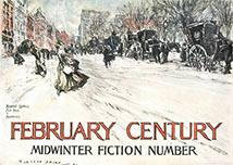 February Century. Midwinter Fiction Number. Plakat