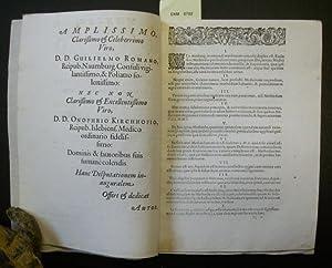 Theses de Methodo Medendi.: Guntherus, Johannes (aus