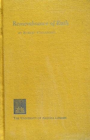 Rememberance of Ruth: Chasteney, Robert