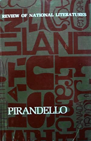 Pirandello (Review of National Literatures): Stone, Jennifer, and Reynolds, Mary, et al.