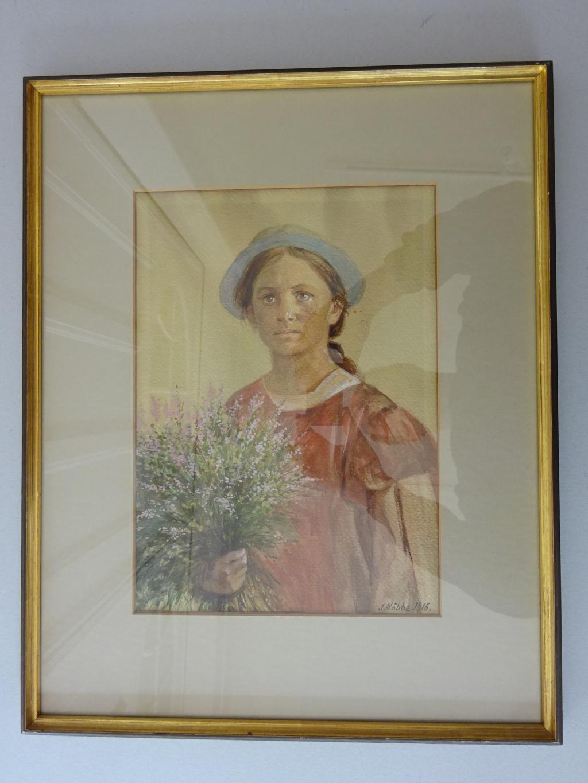 Calw 1877 - 1962 Montagnola). Cortivallo. Aquarell: Hesse, Hermann