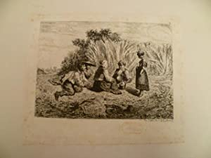Paris 1828 - 1893). Pause bei der: Veyrassat, Jules Jacques