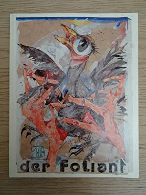der foliant. Eine Exhibitionistische Dokumentation der Unfallgeschichte.: Janssen, H.