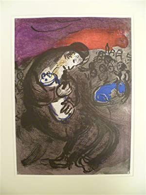 Witebsk 1887 - 1985 Vence). Klagelied des: Chagall, Marc