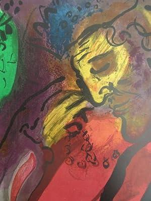 Witebsk 1887 - 1985 Vence). David und: Chagall, Marc