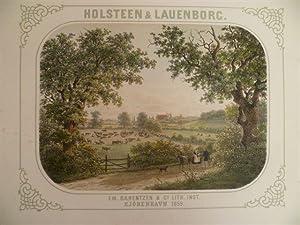 Holsteen & Lauenborg. Kopenhagen, Baerentzen, 1859. Mit: Baerentzen, E.