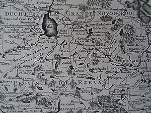 Nouvelle Carte geographique du Grand Royaume de Moscovie representant la Partie Meridionale &c....