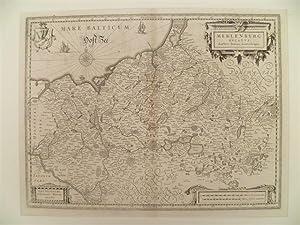 Meklenburg Ducatus. Kupferstich von J. Laurenberg bei: Mecklenburg-Vorpommern.-