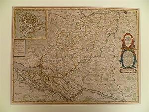 Die Ämbter Trittow, Reinbeeck, Tremsbüttel Und Steinhorst Ao 1649. Kolor. ...