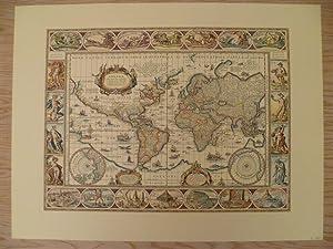Nova Totius Terrarum Orbis Geographica ac Hydrographica: Weltkarten.-
