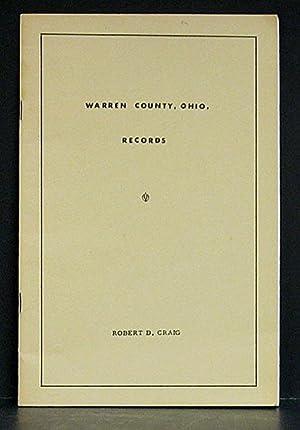 Warren County, Ohio Records: Craig, Robert.