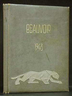 Jefferson Davis High School Yearbook 1948: Beauvoir Vol. XXI Houston: Lofton, editor, Wanda.