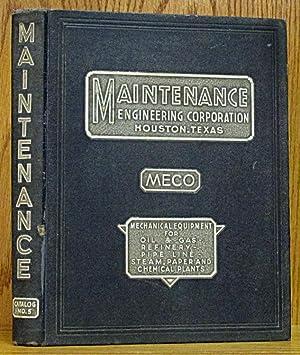 Maintenance Engineering Corporation (MECO) Catalog No. 5: MECO (Maintenance Engineering).
