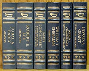 Memoirs of the Civil War Generals (Easton Press, 6 volume set) Jubal Early, Robert E. Lee, James ...