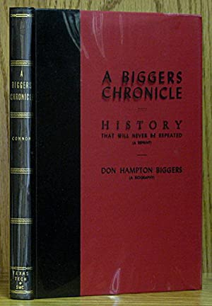 Biggers Chronicle: Connor, Seymour V.