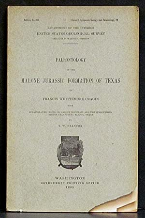 Paleontology of the Malone Jurassic Formation of Texas Bulletin No. 266 Series C, Systematic ...