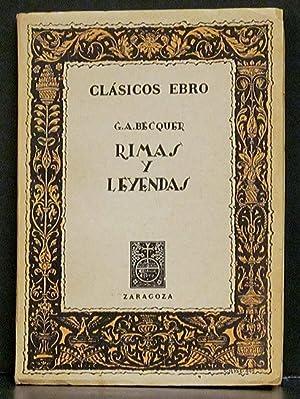 Gustavo Adolfo Becquer: Rimas Y Leyendas: Gil, Ildefonso Manuel.