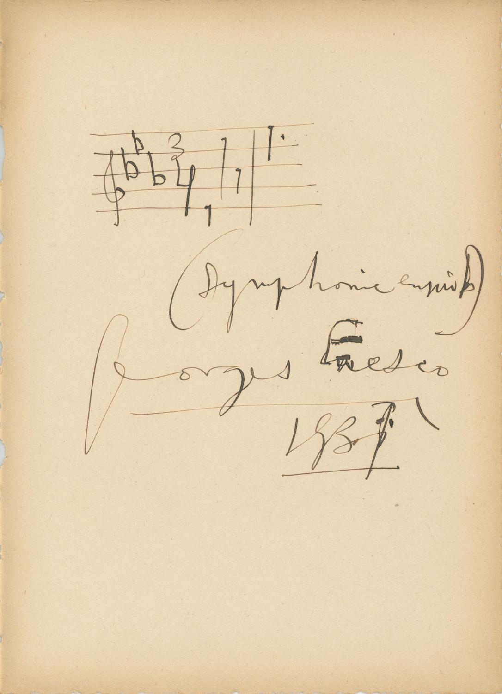 Symphony No  1 in E flat Major, Op  13 -