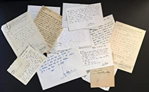 Collection of Autograph Letters to Marcel Mihalovici