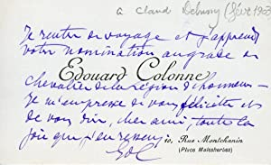 Important Collection of Letters and Telegrams to the Composer
