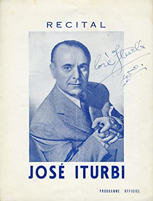 Signed Program: Iturbi, José. (1895-1980)