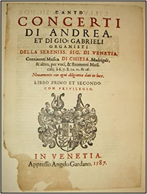 Istituzioni e Monumenti dell'Arte Musicale Italiana: Italian Music]