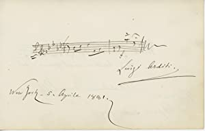 Two Autograph Musical Quotations