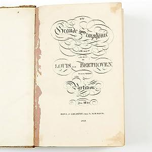 Ludwig Van Beethoven, Signed