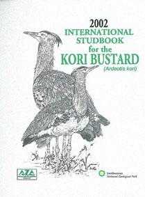 International Studbook for the Kori Bustard (Ardeotis: Smitsonian National Zoological