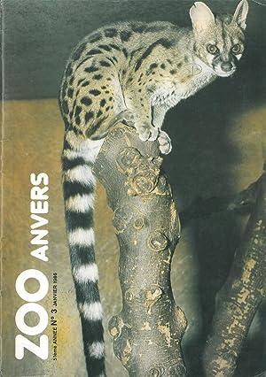 ZOO Anvers, 51. Jg., Nr. 3: Zoo Antwerpen