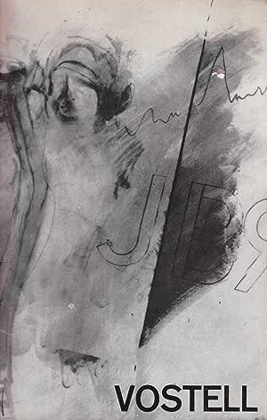 vostell. bilder. verwischungen. happening- notationen. 1961-1966.