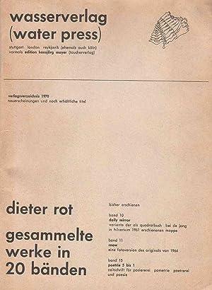 verlagsverzeichnis 1970