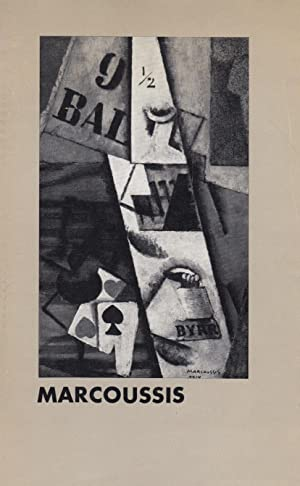 Louis Marcoussis 1883-1941. Gemaelde, Aquarelle, Zeichnungen, Gravuren: Marcoussis, Louis .