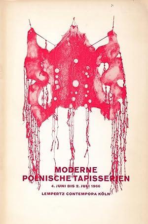 Moderne Polnische Tapisserien. 30 Bildteppiche Von Elf