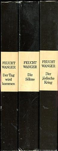 Josephus-Trilogie bestehend aus: Der jüdische Krieg, Die: Feuchtwanger, Lion